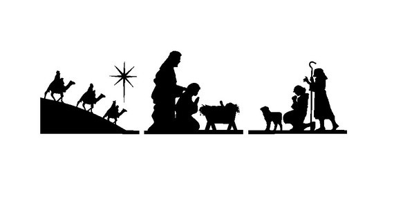 22 Manger Silhouette Free Free Cliparts That You Can Download To You