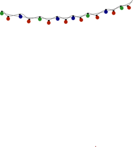 Christmas Lights Clip Art At Clker Com   Vector Clip Art Online