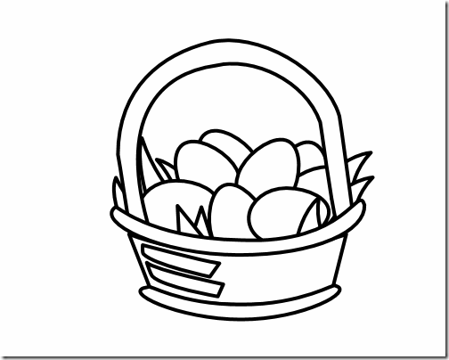 Black And White Easter Clipart - Clipart Suggest