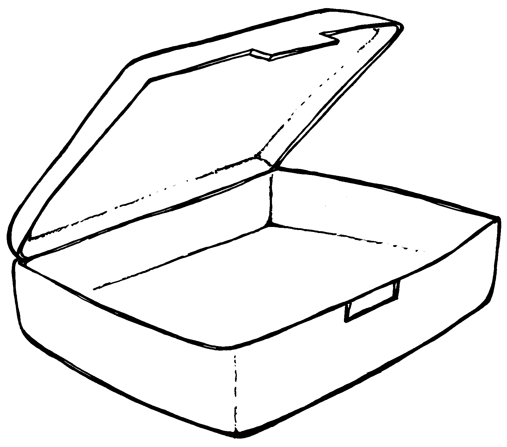 Coloring Pages Of Healthy Lunchbox