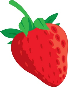 Clip Art Clipart Strawberry clip art eating strawberry clipart kid fruit image a plump red strawberry