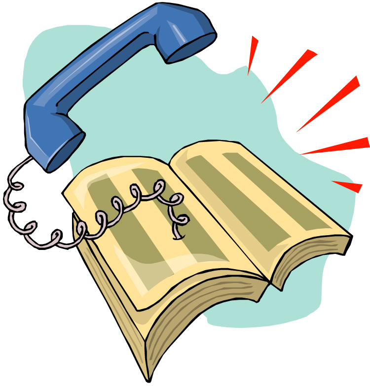 Telephone Directory Also Known As A Telephone Book Phone Book Or