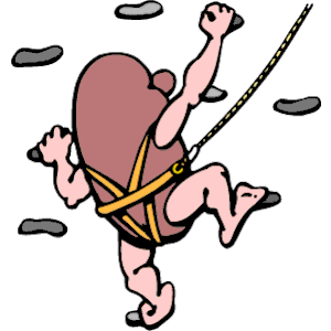 Wall Climbing Clipart Cliparts Of Wall Climbing Free Download  Wmf