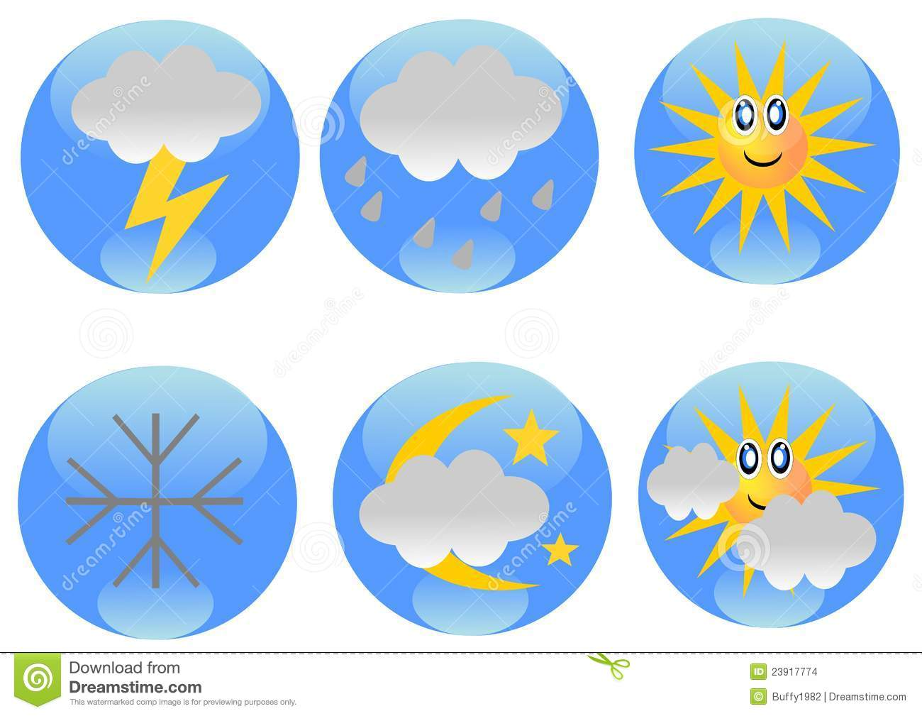 Weekly Weather Forecast Clipart Weather Forecast Icons