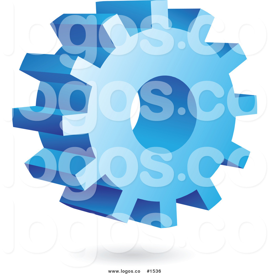 Blue Gear Clipart - Clipart Suggest