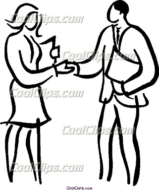 Business People Shaking Hands Clip Art Business People Shaking Hands