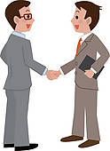 Business People Shaking Hands Clip Art   Clipart Panda   Free Clipart