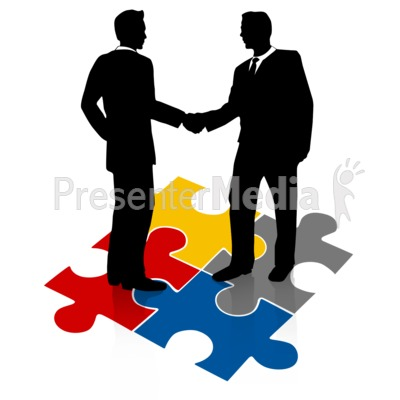 People Shaking Hands Clipart - Clipart Kid