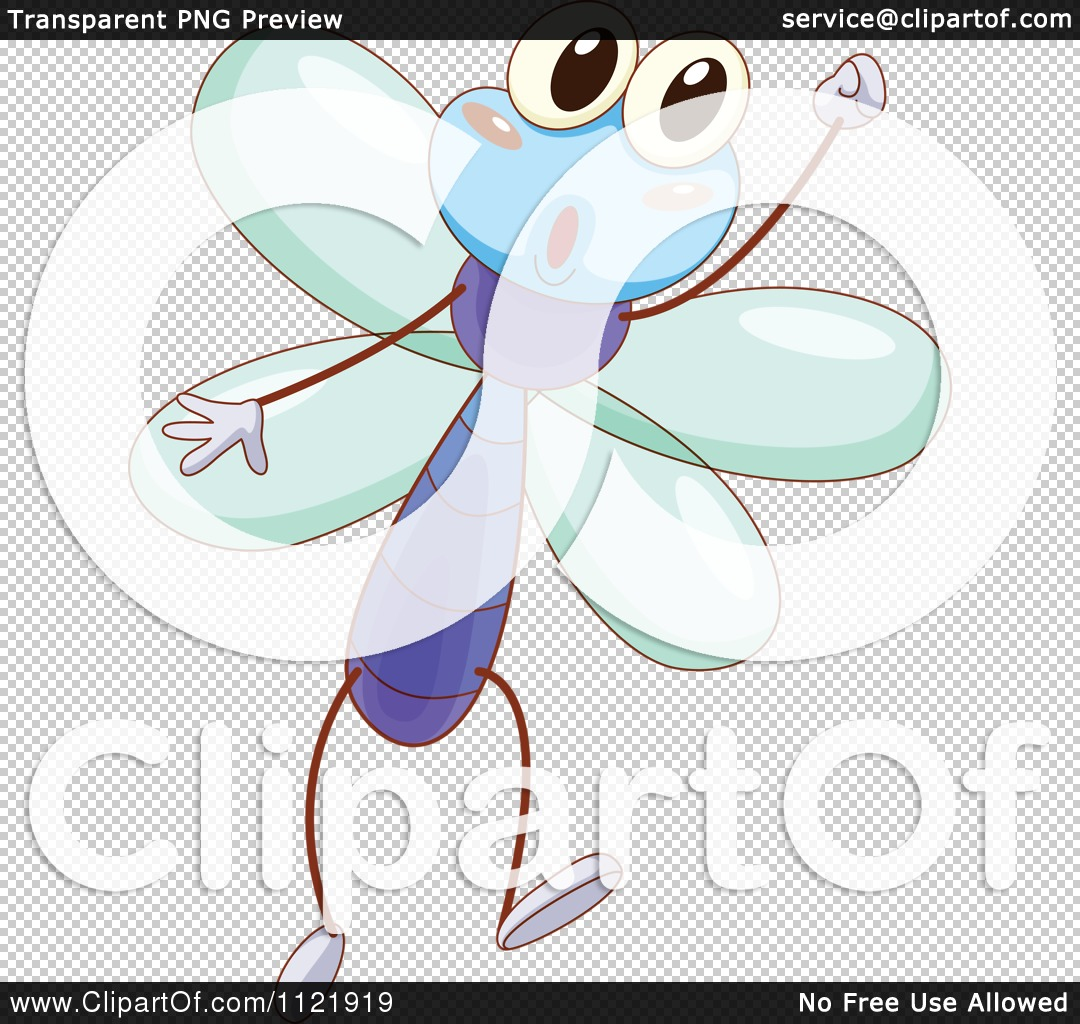 Cartoon Dragonfly Clipart