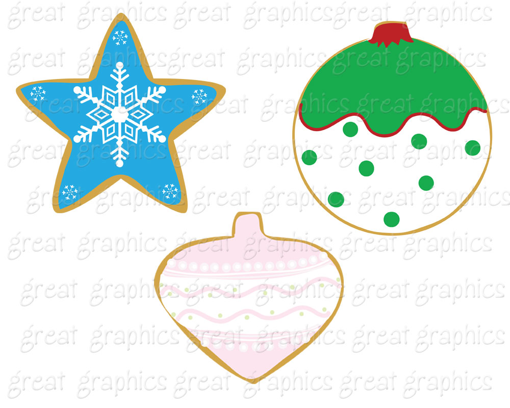 Christmas Cookies Clip Art Christmas Cookie Clip Art