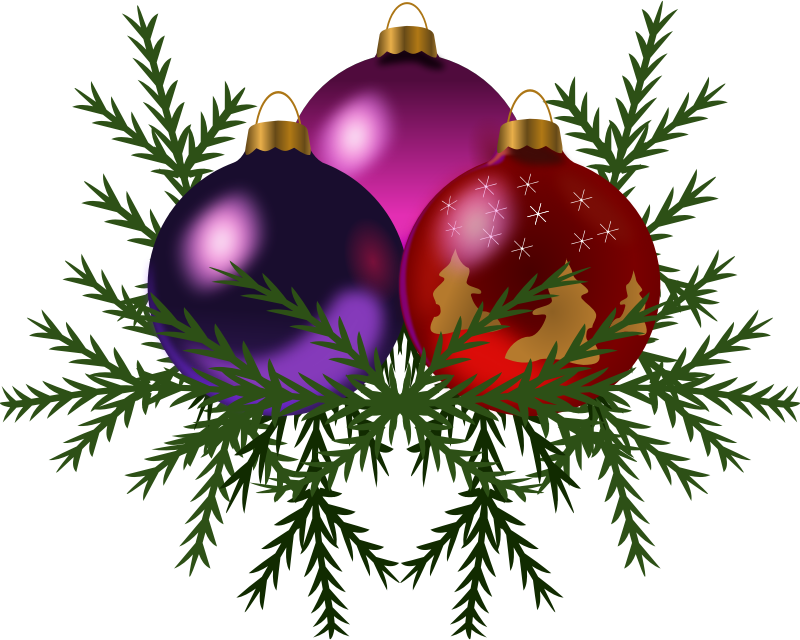 Christmas decorations images clipart
