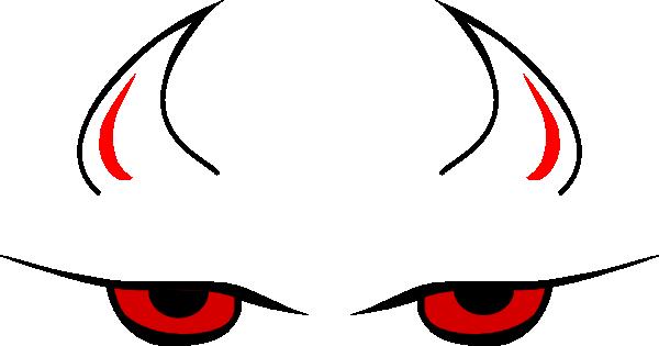 Devil Eyes Clip Art At Clker Com   Vector Clip Art Online Royalty