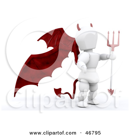 Have thought Devil tail clip art