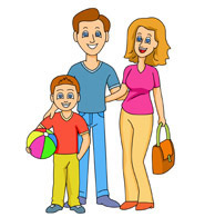 Family Fun Clipart - Clipart Kid