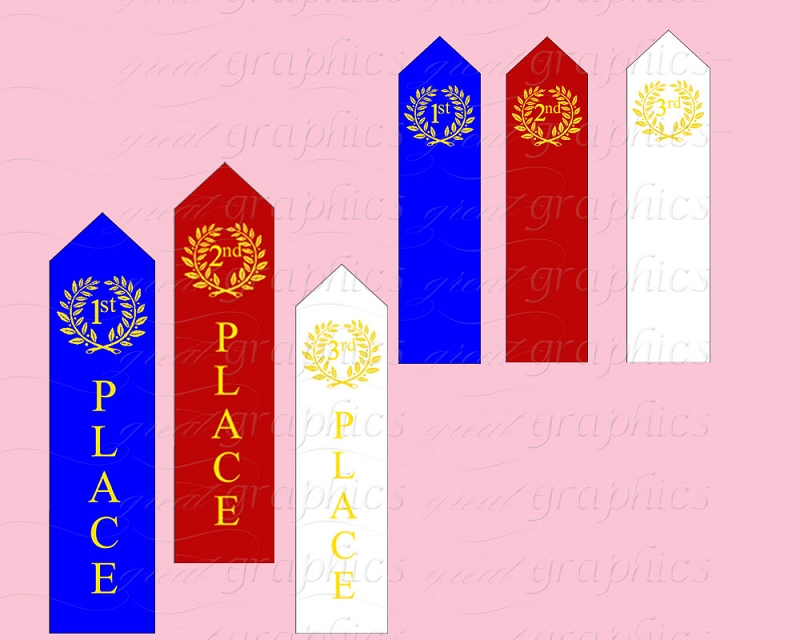 3rd Award Ribbon Clipart - Clipart Suggest