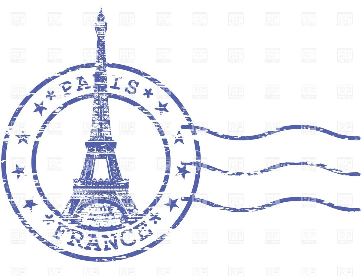 Clip Art France Stamp Clipart - Clipart Kid