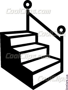 Stairs Vector Clip Art