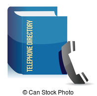 Telephone Directory Clip Art And Stock Illustrations  300 Telephone