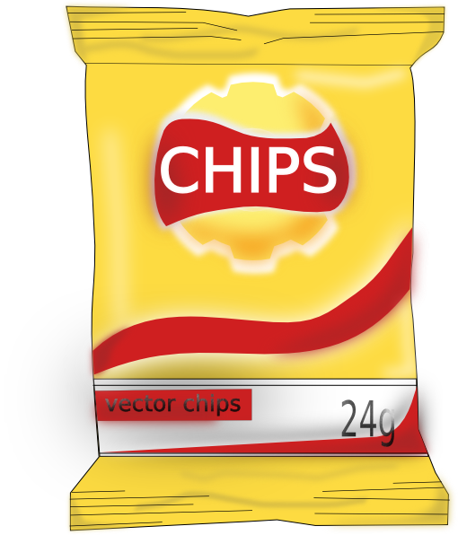 Bags Of Chips Clip Art Confederated