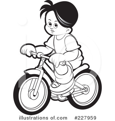 Bicycle Clipart  227959   Illustration By Lal Perera