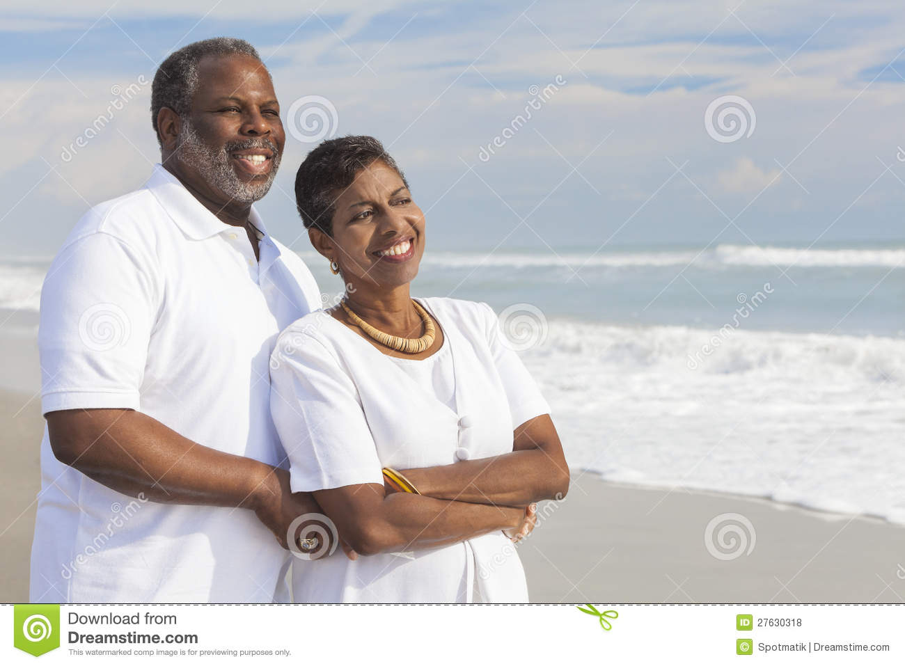 Happy African American Family Over Clouds Stock Image Pictures