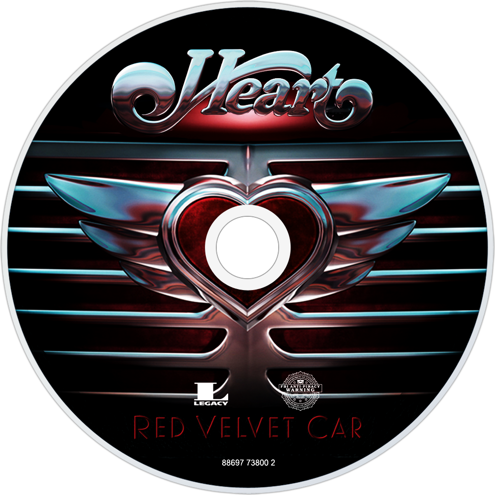 Heart Red Velvet Car Cd Disc Image