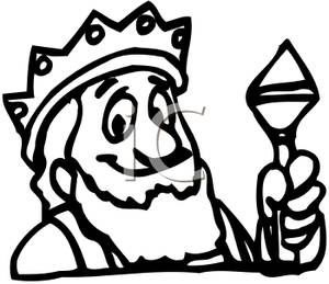 King Crown Clip Art Black And White   Clipart Panda   Free Clipart