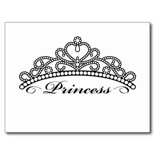 Princess Crown Clipart Black And White Black Princess Crown Clip Art