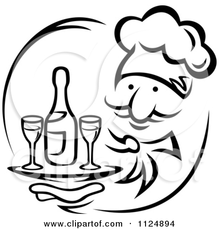 Royalty Free  Rf  Chef Clipart Illustrations Vector Graphics  1