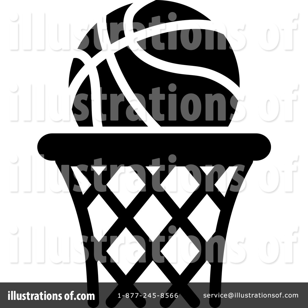 Basketball Black And White Abstract Clipart - Clipart Kid