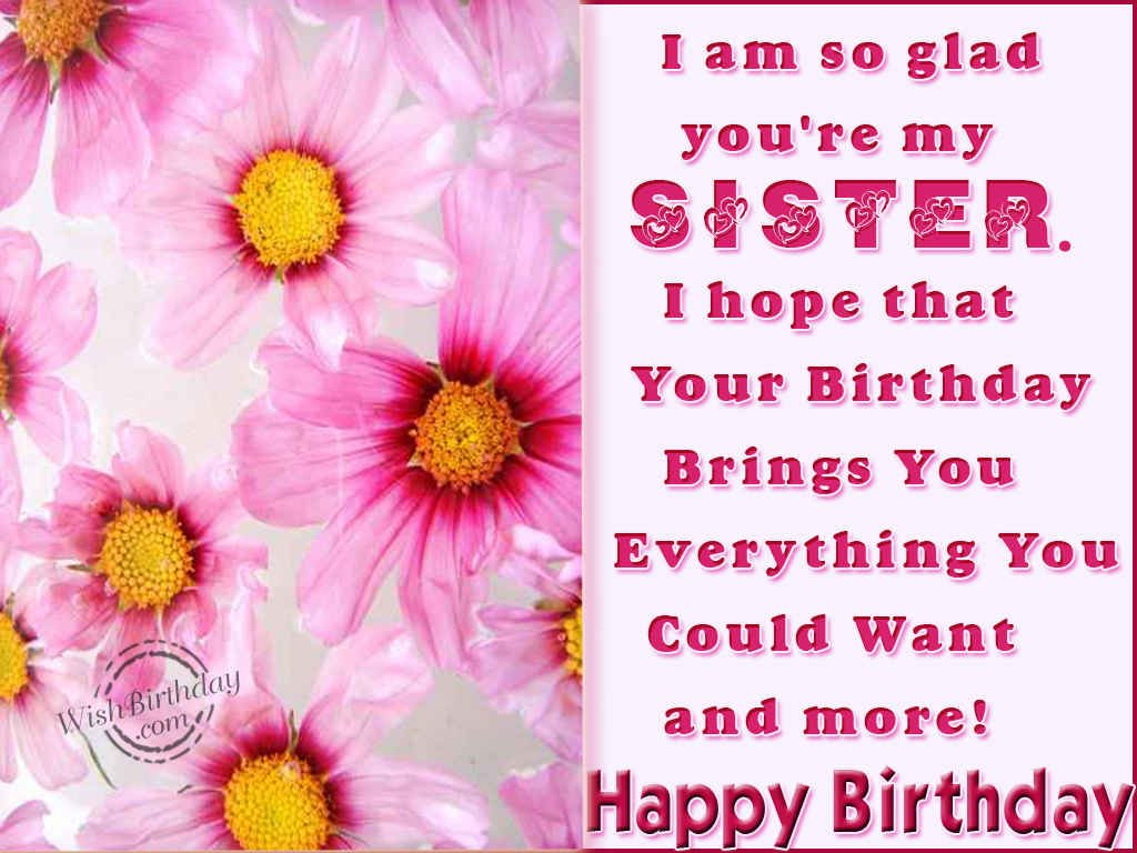For Sisters Happy Birthday Religious Clipart Clipart Kid – Happy Birthday Greetings for Sister