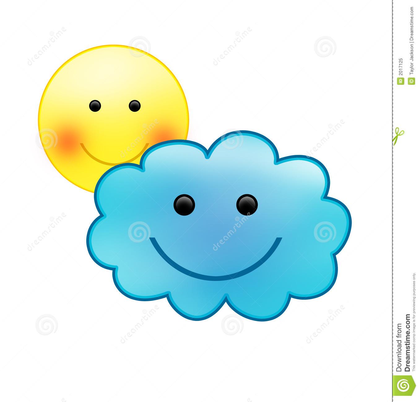 emoticons sunny cloudy - photo #17