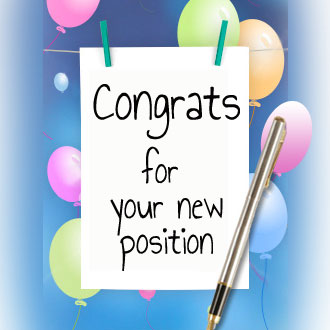 Congratulations On Your New Position Clipart - Clipart Kid
