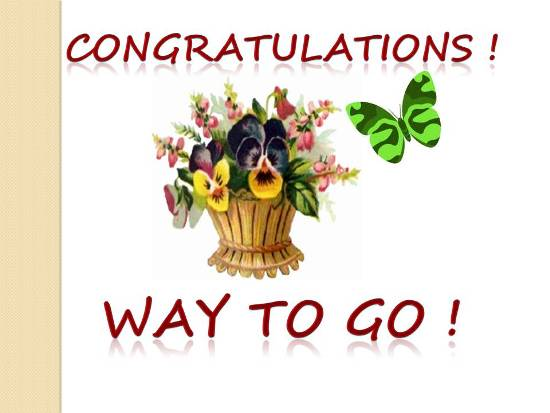 Congratulations for promotion in job - photo#50