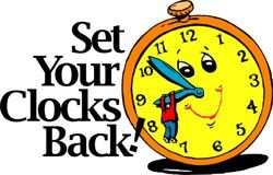Daylight Saving Time Ends Saturday Night  Reset Your Clocks   News