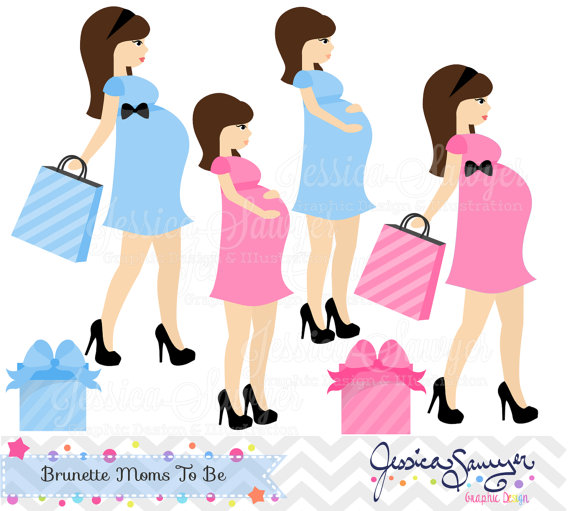 Download Pregnancy Clipart Baby Shower Clip Art For Baby Shower
