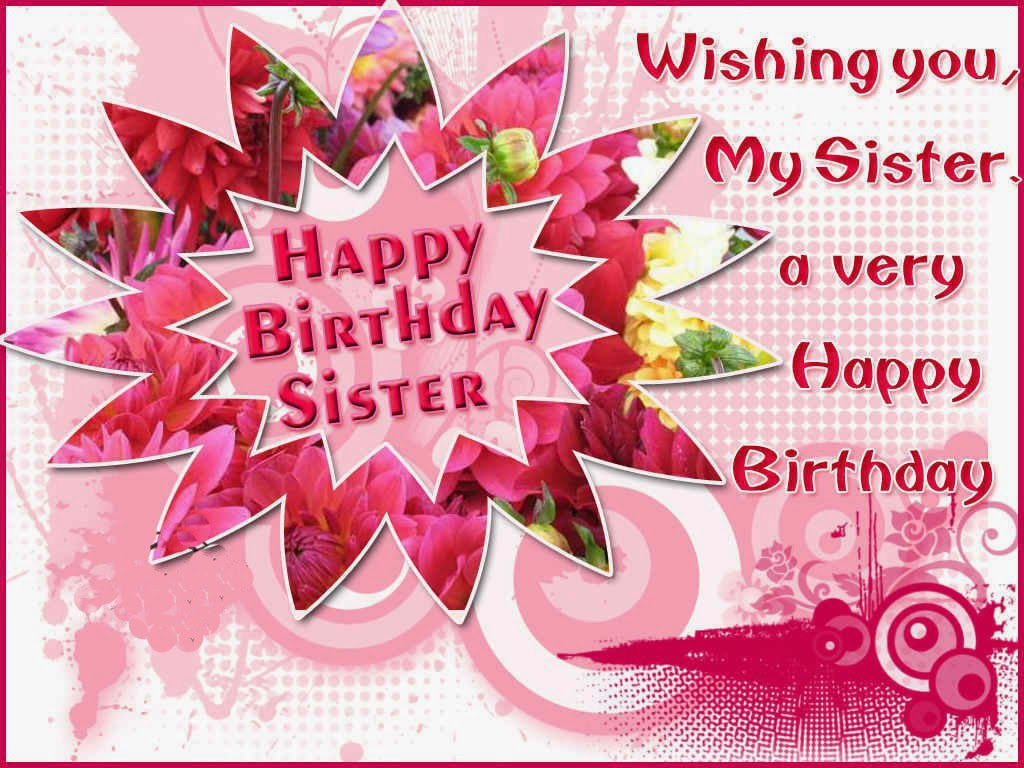 For Sisters Happy Birthday Religious Clipart Clipart Kid – Birthday Greetings for Sister Message