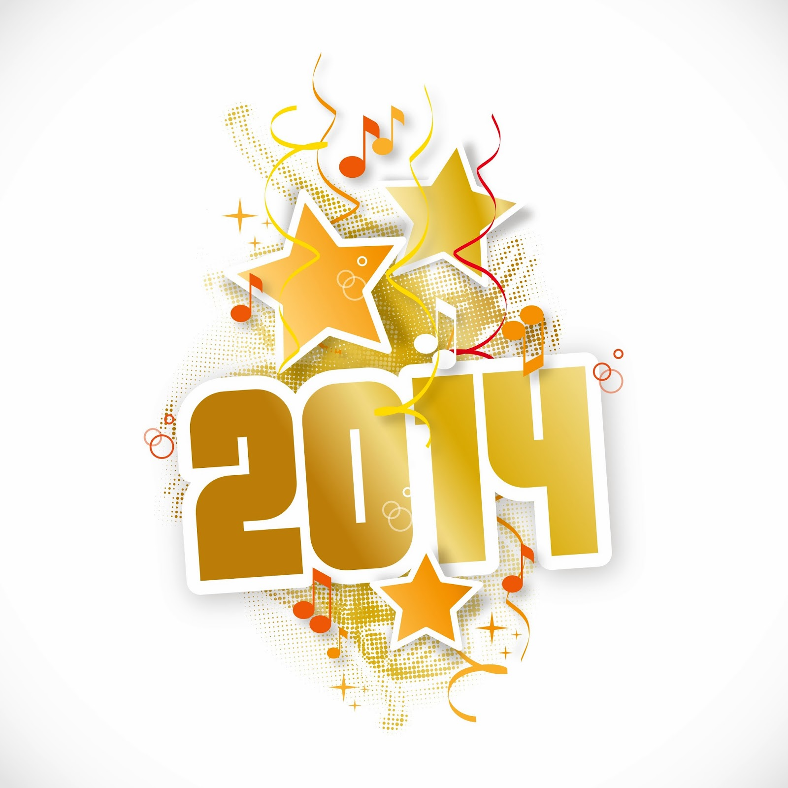Happy New Year 2014 Horse Wallpapers Hd Backgrounds Vector Clip Arts