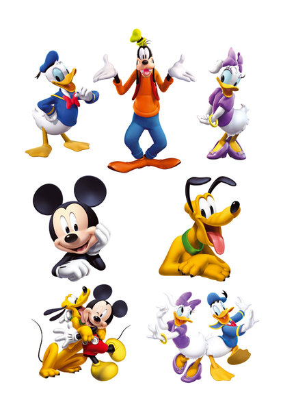 Mickey Mouse Clubhouse Characters Faces Mickey Mouse Clubhouse Figure