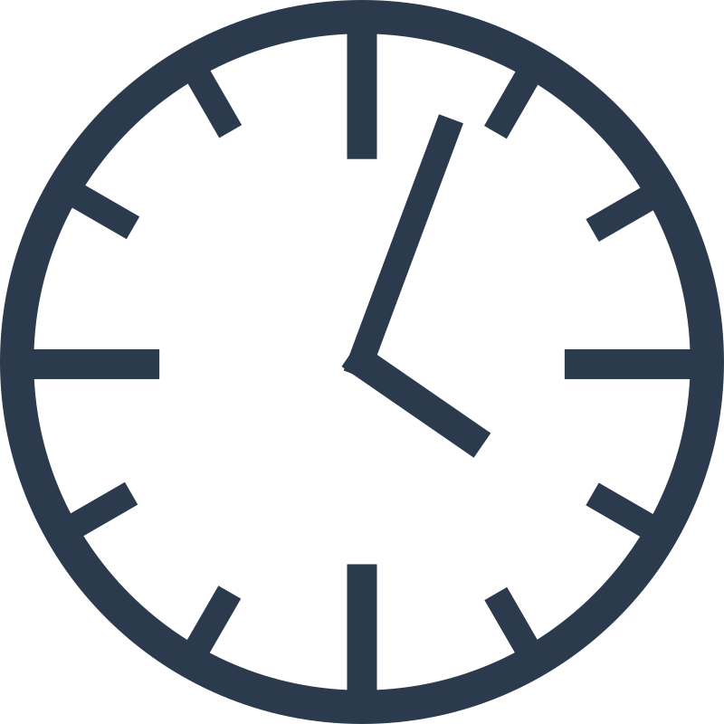 Simple Clock By Matzekatze   A Simple Clock Pointing Three Past Four