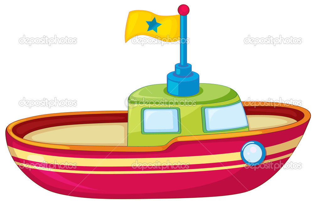 Toy Boat Clipart - Clipart Kid