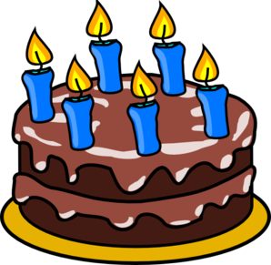 7th Birtday Clipart