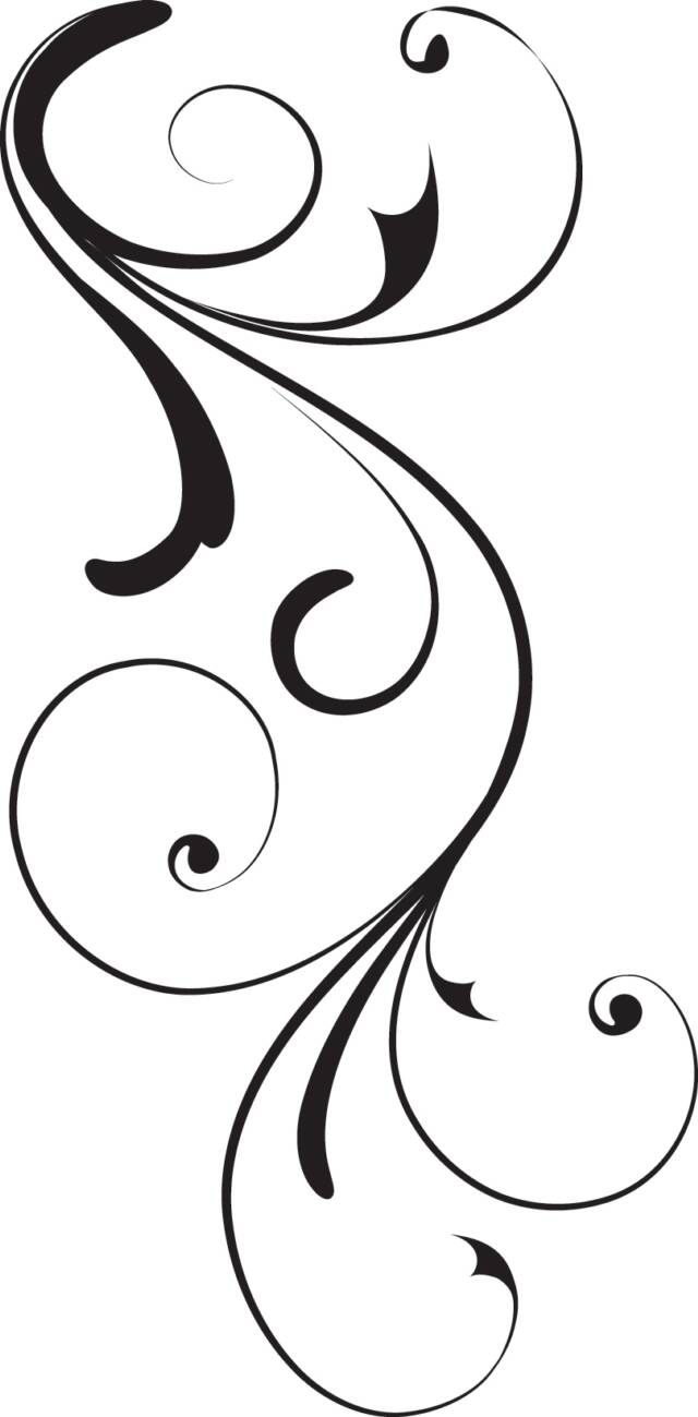 Black Swirl Op X   Free Images At Clker Com   Vector Clip Art Online