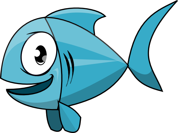 Cartoon Fish Clipart Clipart Suggest