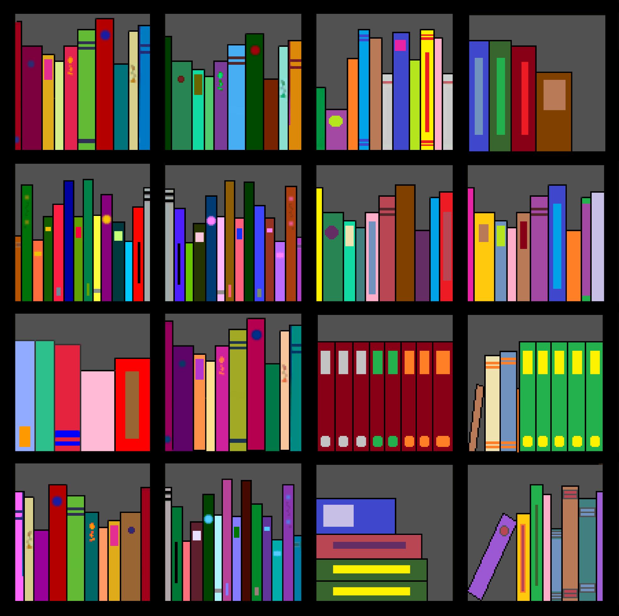 Clip Art Book Shelf Clipart - Clipart Suggest