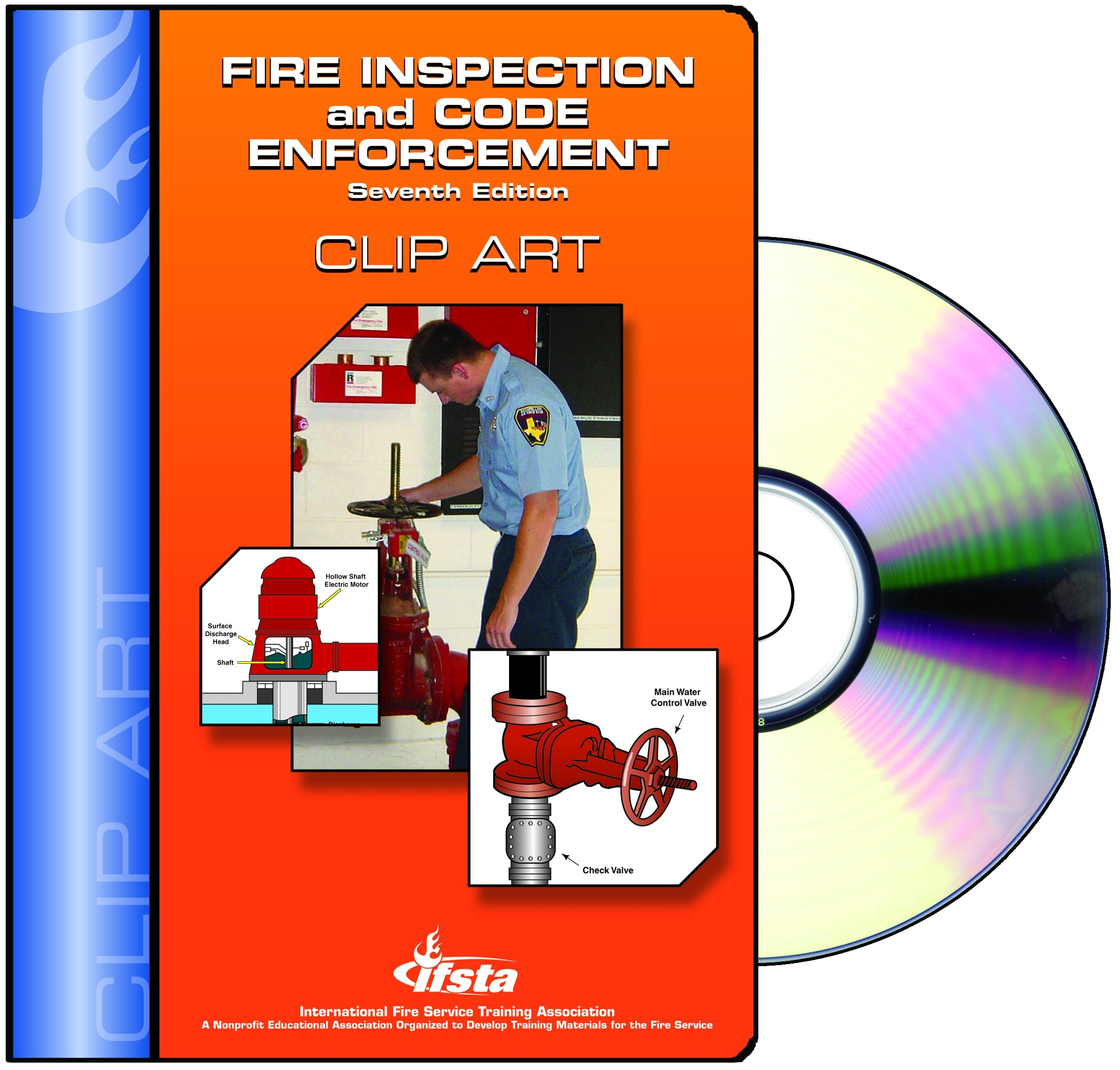 Code Enforcement  7th   Clipart On Cd   Fire Service Bookstore