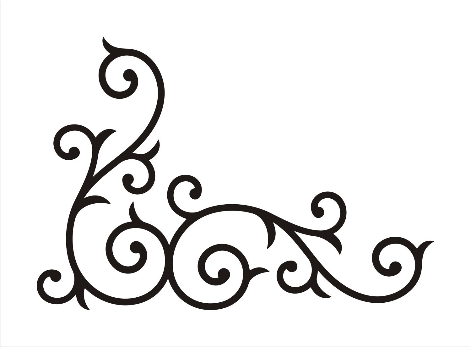 Fancy Border Clip Art Swirl Clipart Panda Free Clipart Images