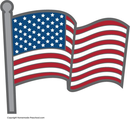 free black and white american flag clip art - photo #23