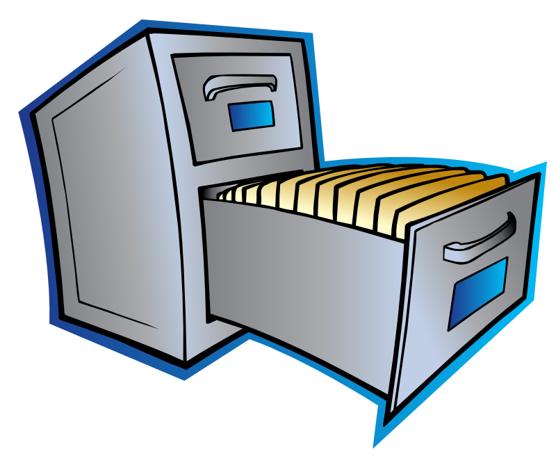 Filing Cabinet Clipart Clipart Suggest