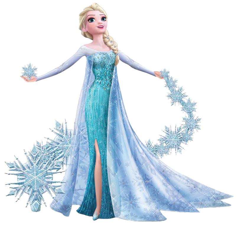 elsa face clipart - photo #34